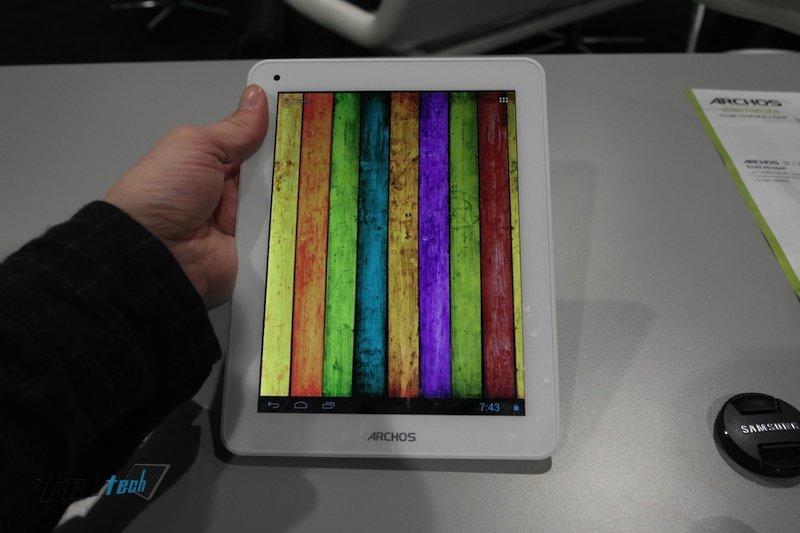 Archos 80 Titanium mit Dual Core und 8 Zoll IPS-Display im Kurztest