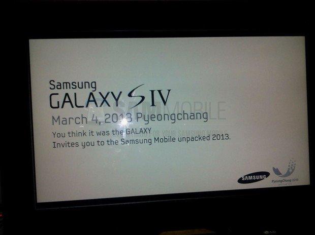Samsung Galaxy S 4: Vorstellung am 4. März? Wohl eher nein!