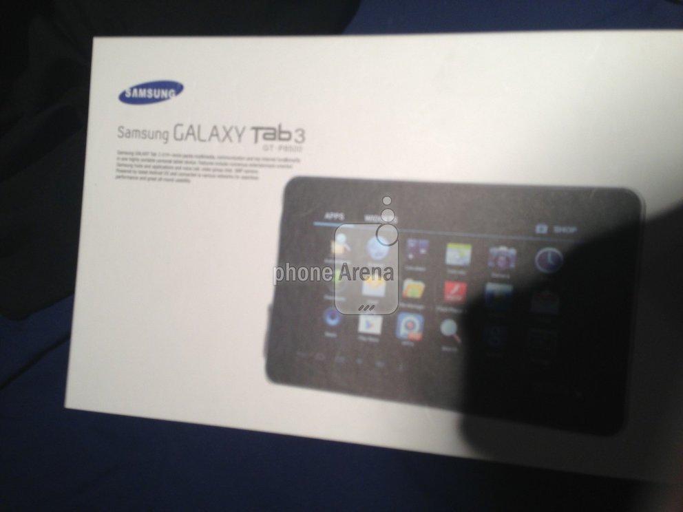 Samsung Galaxy Tab 3 auf ersten Bildern zu sehen?