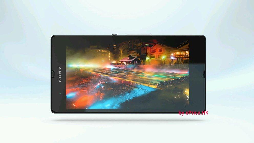 Sony Xperia Z: Neue Bilder bestätigen viele Features