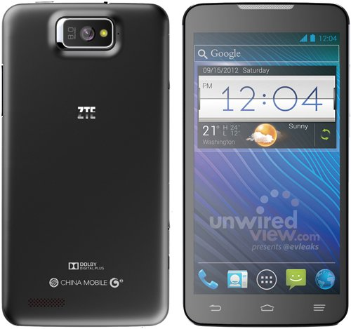 ZTE P945: Smartlet mit 5,7 Zoll Display und Quad Core Prozessor erwartet