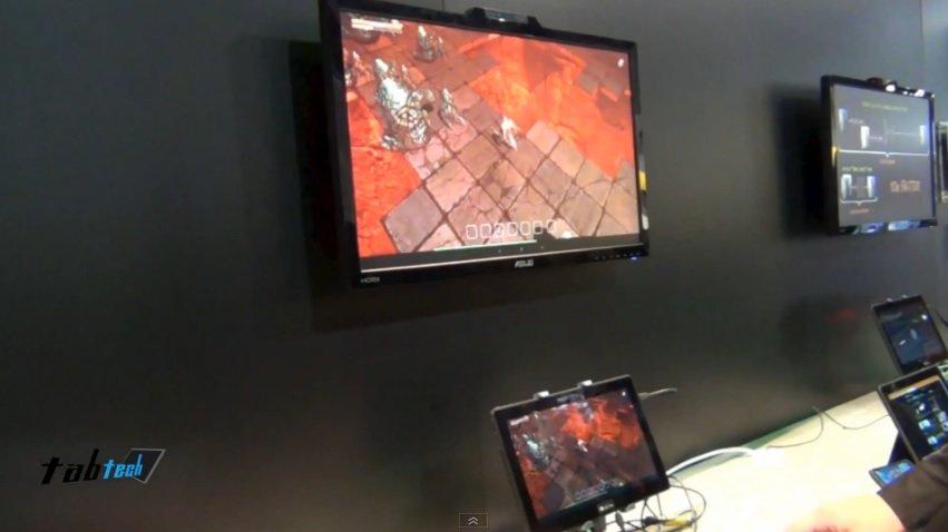 Nvidia auf der CES 2013: Videorundgang und Demo des Tegra 4