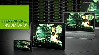 Nvidia Grid Cloud Gaming auf dem Nexus 7 demonstriert