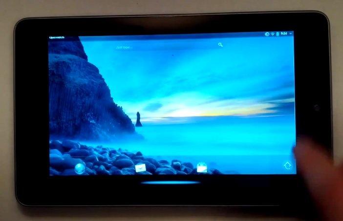 Open webOS auf das Nexus 7 portiert