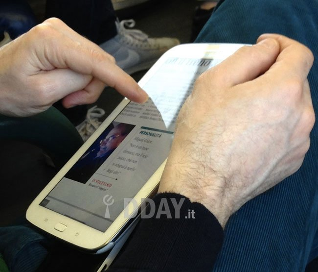Samsung Galaxy Note 8.0 zeigt sich auf ersten echten Fotos