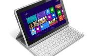 Acer Iconia W700 in neuer Version mit Smart Case und Bluetooth-Tastatur - Update: Hands On Videos