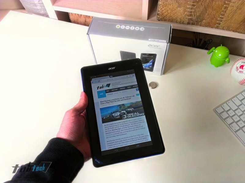 Acer Iconia B1 mit 16 GB internem Speicher offiziell angekündigt