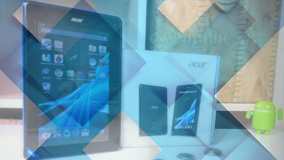 Acer Iconia Tab B1 Test - Günstiges Einsteiger-Tablet