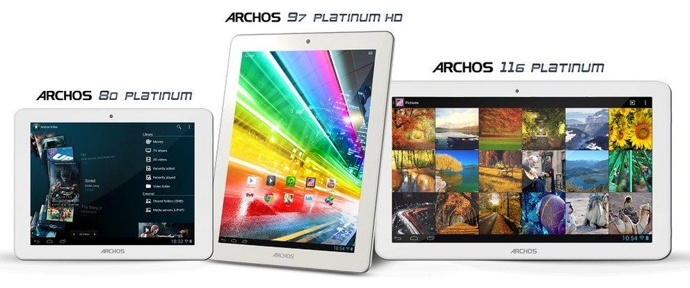 Archos 101 Platinum mit neuem Prozessor im GLBenchmark aufgetaucht