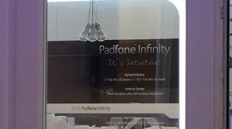 Asus Padfone Infinity mit 5 Zoll Full HD Display und Asus Fonepad auf dem MWC 2013 gesichtet