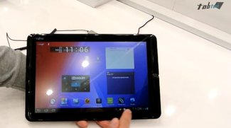 Fujitsu Stylistic M702: Das Business-Tablet in unserem Hands-On-Video vom MWC 2013
