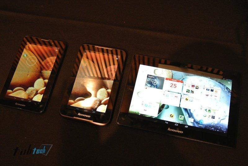 Lenovo A1000, A3000 und S6000: Günstige Android Tablets beim MWC 2013 vorgestellt - Inklusive Hands-On-Bilder und Videos