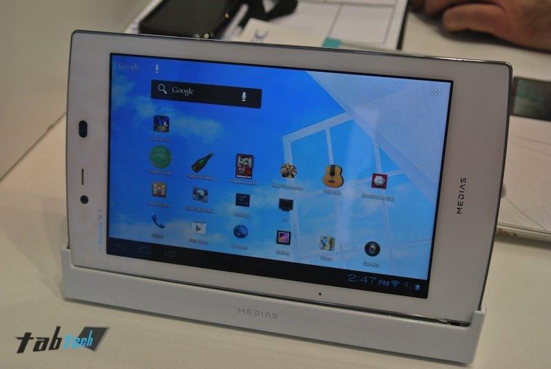 NEC Medias Tab: Das leichteste Tablet der Welt in unserem Hands-On-Video