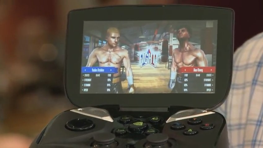 Nvidia Project Shield: Real Boxing Spiele Demonstration - Kein Konkurrenzprodukt von Qualcomm
