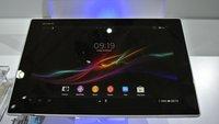 Sony Xperia Tablet Z kann bereits in Deutschland vorbestellt werden