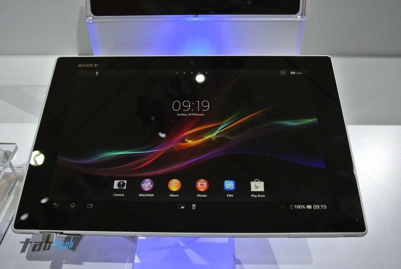 Sony Xperia Tablet Z ab Mitte Mai in Deutschland verfügbar