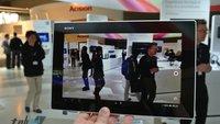 Sony Xperia Tablet Z kann im ersten Test überzeugen