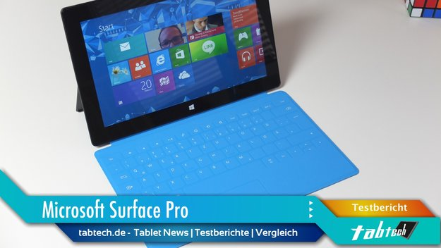 Microsoft Surface Pro Test