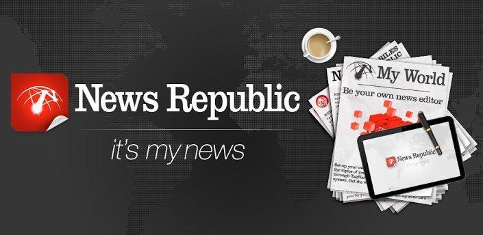 News Republic: Personalisierte Nachrichten aus vielen Bereichen