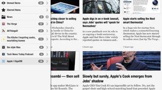 Newsify RSS Reader: Google Reader Client für iOS mit anpassbarem Layout &amp&#x3B; momentan kostenlos