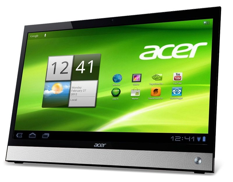 Acer Smart Display DA220HQL: 21,5 Zoll Android Tablet und Windows 8 Touchscreen-Monitor