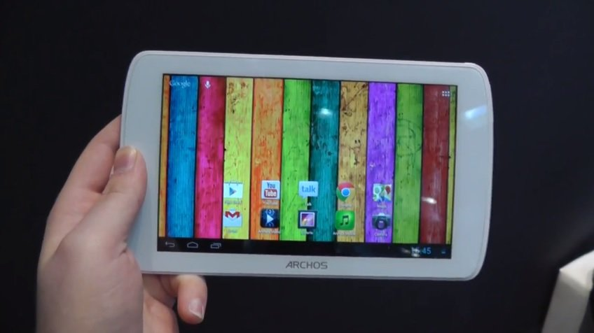Archos 70 Titanium im Hands-On Video von der CeBIT 2013
