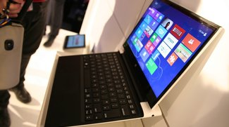 Intel North Cape 13,3 Zoll Tablet Prototyp mit Haswell-CPU und Tastatur-Dock im Video