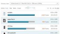 Unbekanntes LG Smartphone (D801) mit Snapdragon 800 im Benchmark - Update: LG Optimus G2
