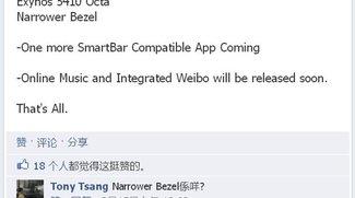 Meizu MX3 mit Exynos 5410 OCTA und extrem schmalen Displayrahmen?