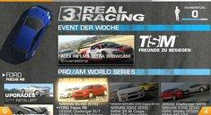 Real Racing 3 erschienen und angespielt - Durchgehender Spielspaß nur gegen Bezahlung