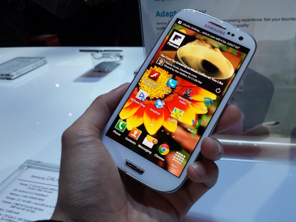 Samsung Galaxy S4 Display im Vergleich mit der Konkurrenz