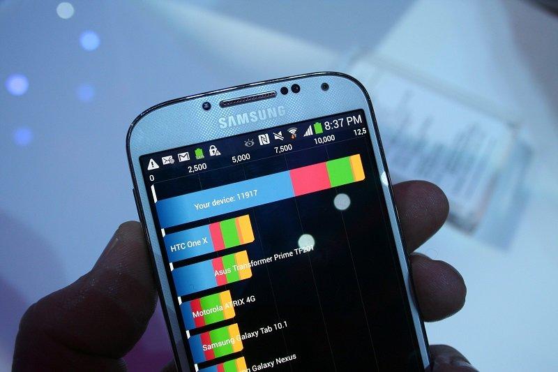 Samsung Galaxy S4 im Benchmark