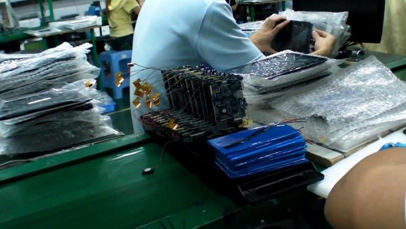 Fabrik-Tour: So wird ein nur 61$ teures 9 Zoll Allwinner A13 Tablet in China montiert