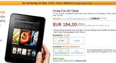 Amazon: Bis Montag 15 Euro Rabatt auf ein Kindle Gerät