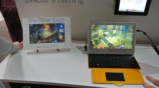 AMD Temash APUs A4-1200 und A6-1450 für Windows 8 Tablets erscheinen im 2. Quartal