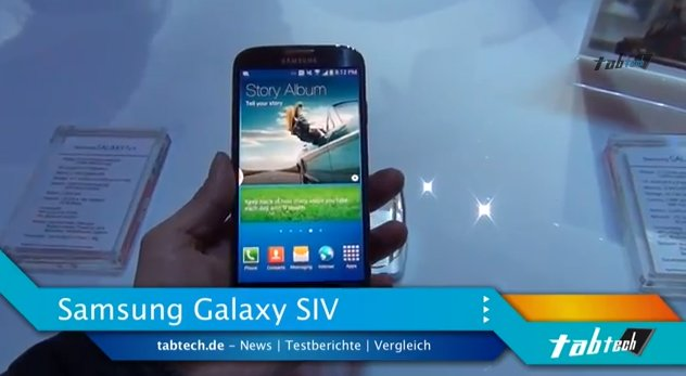 Samsung Galaxy S4: 1080p-Aufnahmen mit 60FPS?