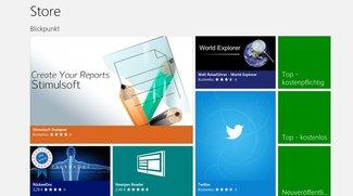Microsoft Windows Store nun mit über 50.000 Apps