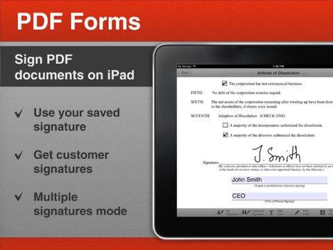 PDF Forms: PDF-Tool mit Cloud-Anbindung für das iPad