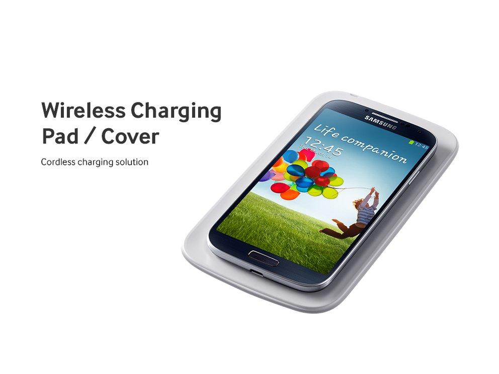 Samsung Galaxy S4: Wireless Charging Pad und Cover nun erhältlich