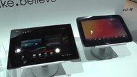 Sony Xperia Tablet Z vs. Google Nexus 10 im Vergleichs-Video