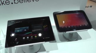 Sony Xperia Tablet Z vs. Google Nexus 10 im Vergleichs-Video
