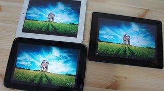ASUS Padfone Infinity im Duell mit dem Nexus 10 und dem Apple iPad 4