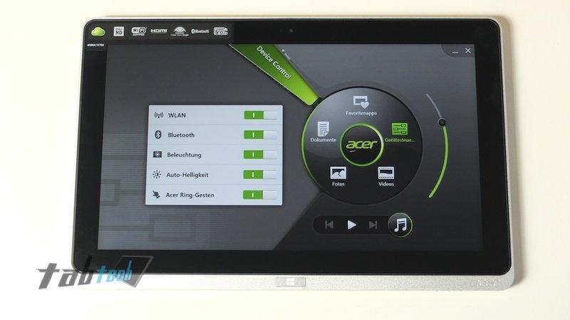 Acer W700 Ring Ui
