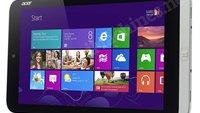 Acer W3-810: Windows-Tablet mit 8,1 Zoll zeigt sich kurz bei Amazon - soll 380 Dollar kosten