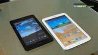 Asus FonePad Unboxing und Vergleich mit dem Samsung Galaxy Note 8.0