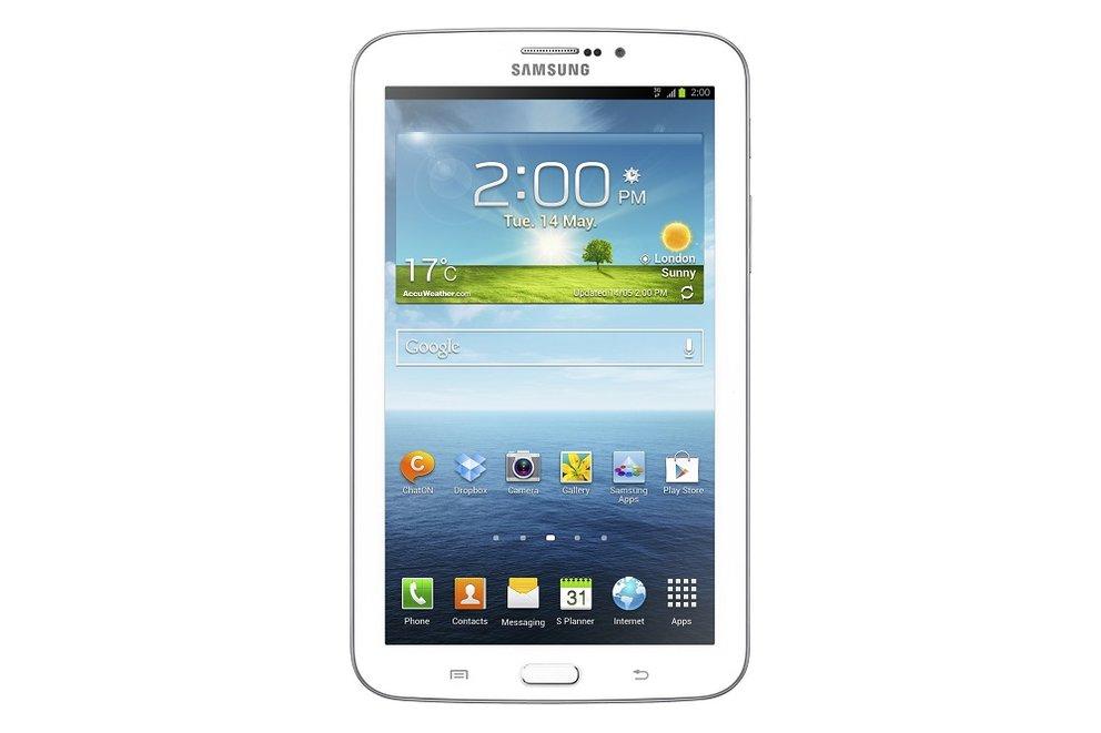 Samsung Galaxy Tab 3 kostet 459€ (WiFi) und 489€ (UMTS)