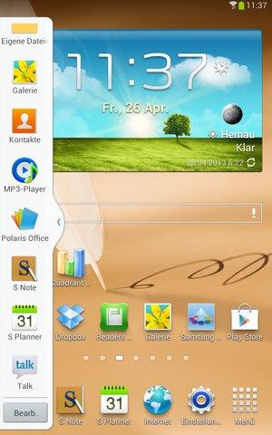 Galaxy Note 8.0 Multiwindow