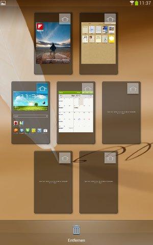 Galaxy Note 8.0 PErsonalisieren