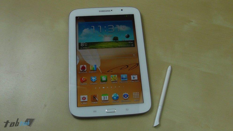 Samsung Galaxy Note 8.0 Test