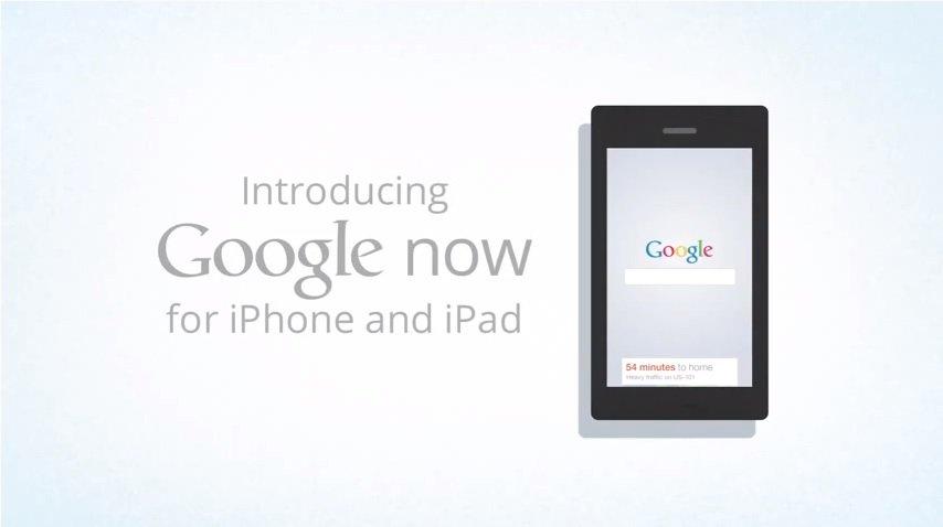 Google-Suche Update für iOS bringt Google Now auf das Apple iPad